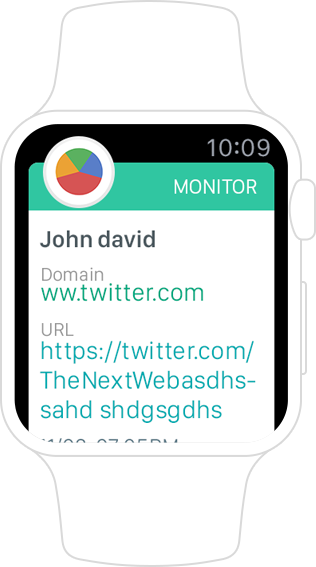 Apple watch monitor app