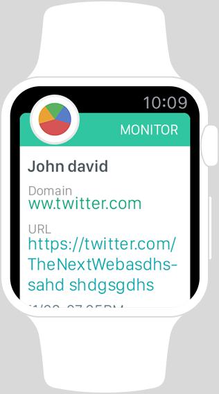 Apple watch monitor app